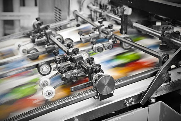 4 color Printing on large format printer
