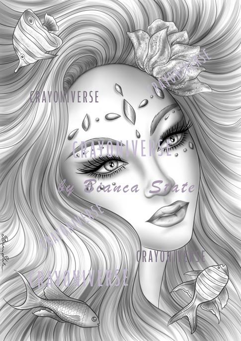 Sirenia_Grayscale_Crayoniverse_watermark
