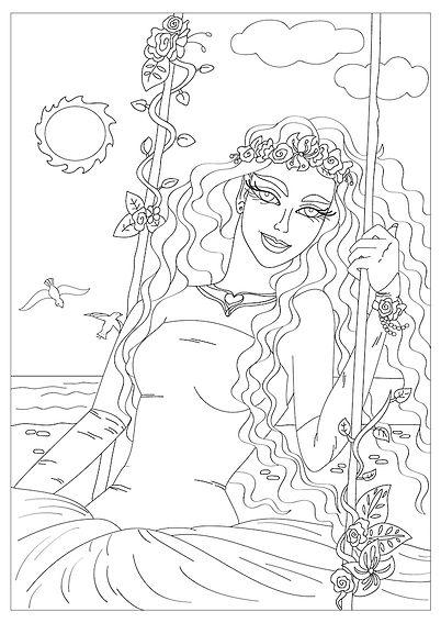 Artsy coloring pages_Crayoniverse