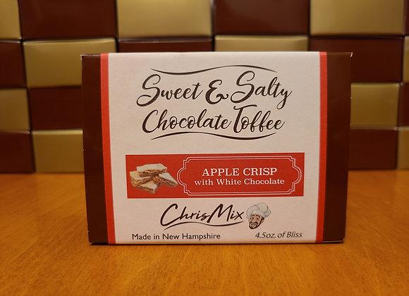 White Chocolate Apple Crisp