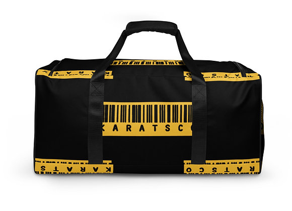 Karats All-Over Print Duffle Bag