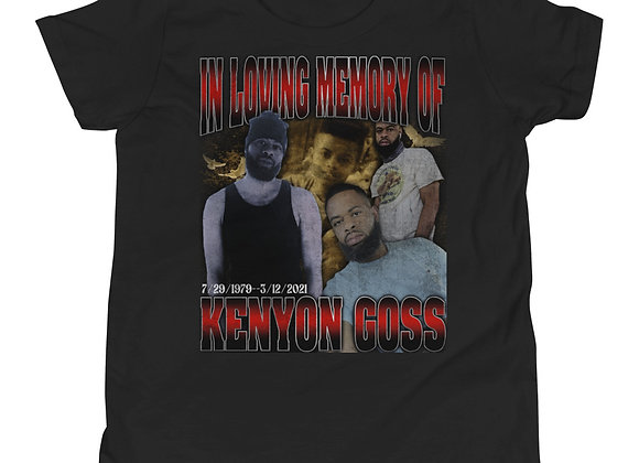 In Loving Memory Of Kenyon Goss Youth Short Sleeve T-Shirt