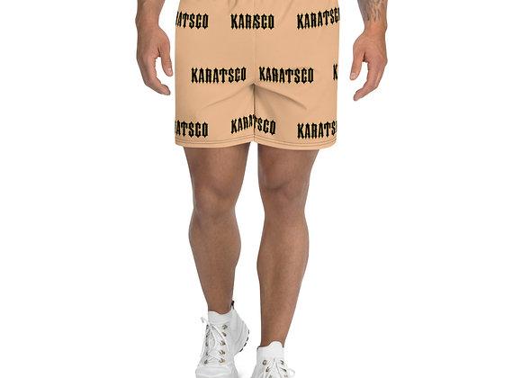 Company Logo Men's Athletic Long Shorts