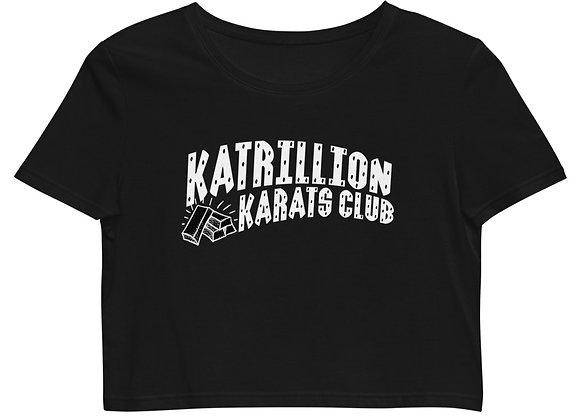 KATRILLION Karats Club Organic Crop Top Tee