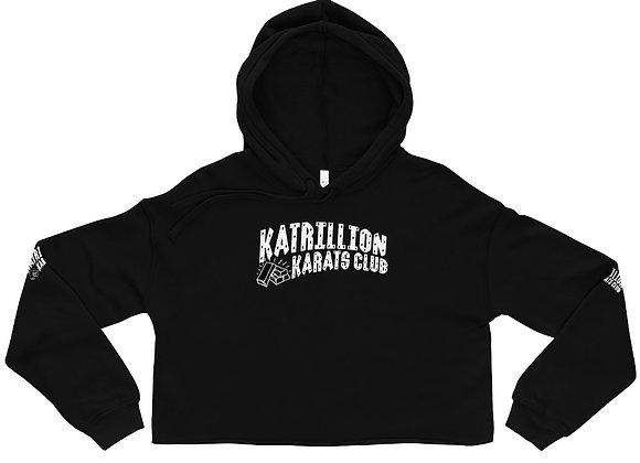 KATRILLION Karats club Ladies Crop Hoodie