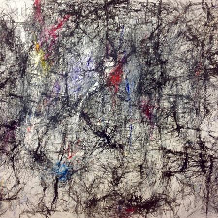 the sounds of silence, oil on canvas, 260 cm x 200 cm, 2019