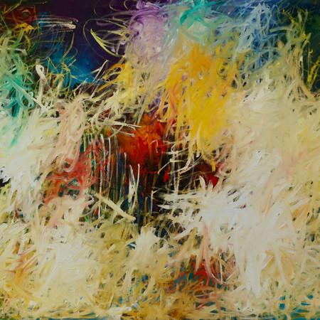sweet melancholy, oil on linen, 150 x 115 cm, 2018