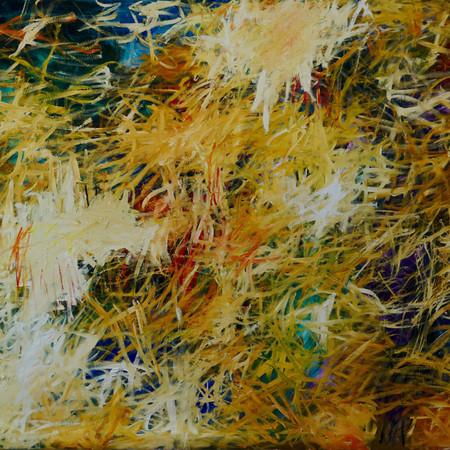sweet melancholy, oil on linen, 240 x 150 cm, 2018
