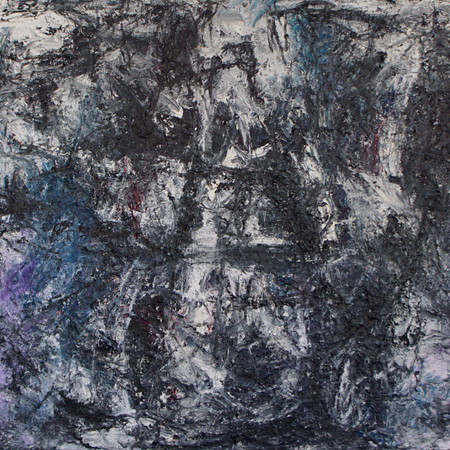 the sounds of silence, oil on canvas, 100 cm x 70 cm, 2019