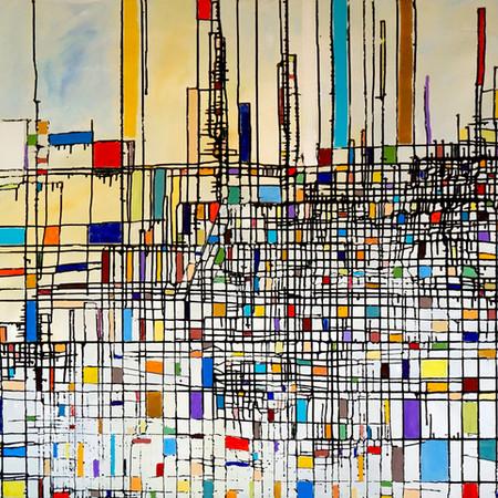 relatività, oil on canvas, 150 cm x 120 cm, 2018