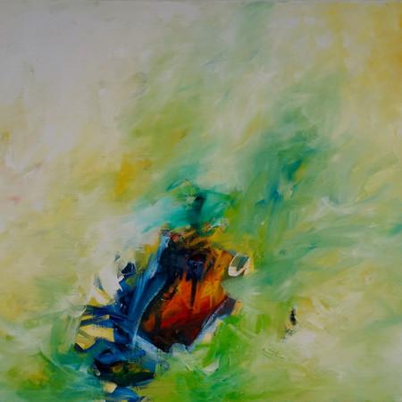 sweet melancholy, oil on linen, 140 x 100 cm, 2018