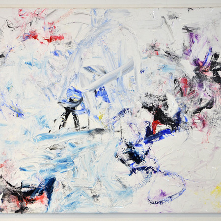 the visible and the invisible beyond limits II, oil on linen, 140 cm x 100 cm, 2020