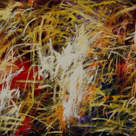 sweet melancholy, oil on linen, 240 x 70 cm, 2018