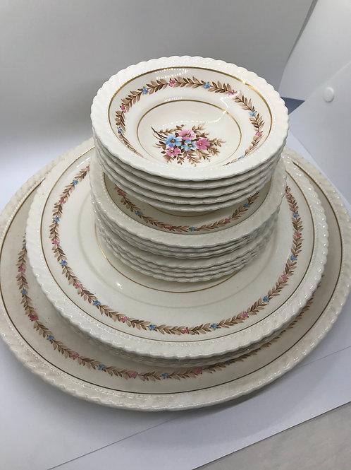 Vintage Regal Vellum Ware (19 Pieces)