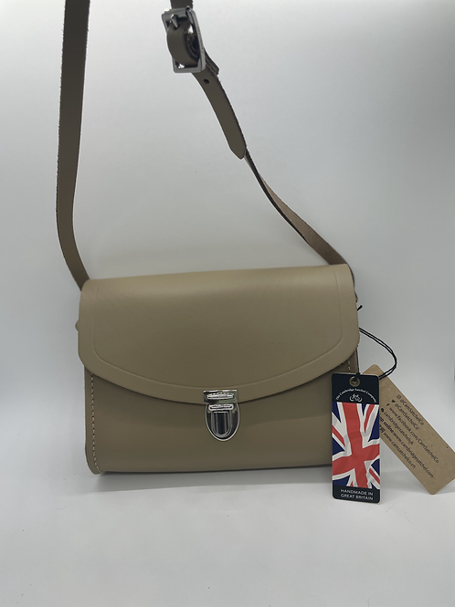 The Cambridge Satchel Company - Push Lock Putty with Fixed Strap