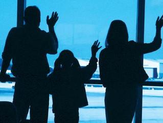 Primeiro Intercâmbio dos filhos fora do País - Um processo que envolve toda a família