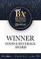 Bexley Awards Winner_FOOD & BEVERAGE.hei