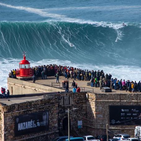Nazaré: as maiores (e melhores) ondas do mundo
