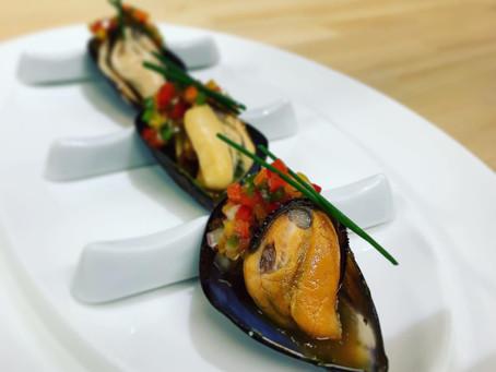 ムール貝のピピラーナ