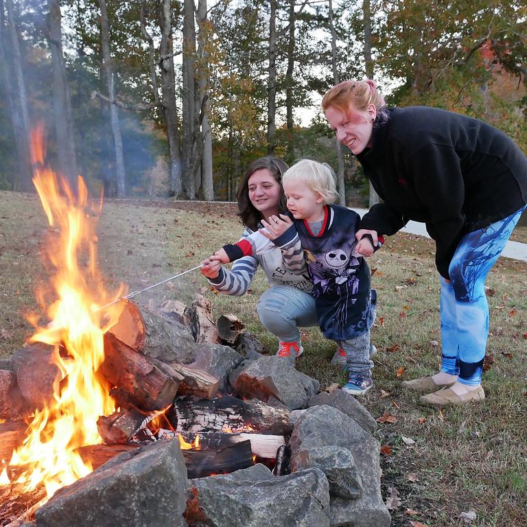 Community Campfire and Movie Night