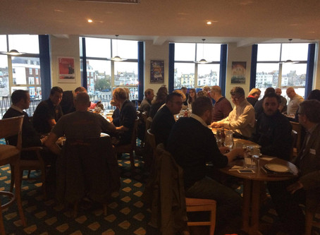 Success at WEBX Visitors Networking Breakfast