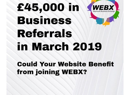 £45k in Business Referrals in March 2019