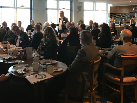 VISITOR'S NETWORKING BREAKFAST GENERATES NEW BUSINESS LEADS