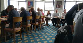 SUCCESS AT WEBX VISITORS BUSINESS NETWORKING BREAKFAST