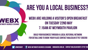 WEBX VISITORS NETWORKING BREAKFAST 22/05/18
