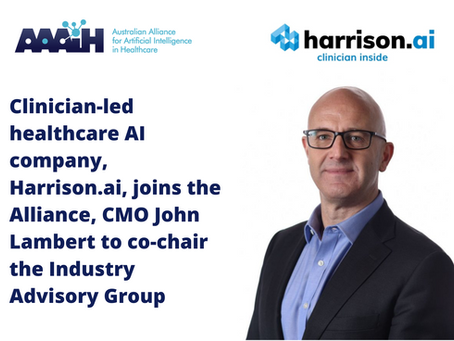 Harrison.ai joins the Australian Alliance for Artificial Intelligence in Healthcare