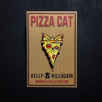 Pizza Cat (Enamel Pin)