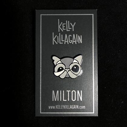 Milton Enamel Pin