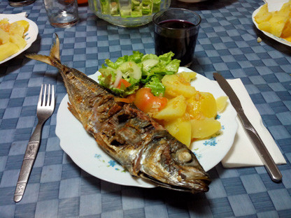GASTRONOMY DOMINATED BY FISH DISH