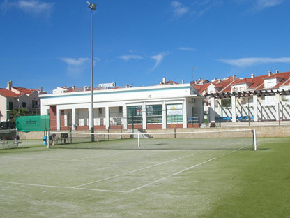 SEVERAL TENNIS COURTS