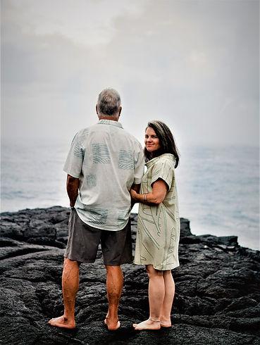 Dad & Mom SZ Facing Future and Reflectio