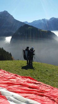 wingsforyou.ch Gleitschirm Tandem