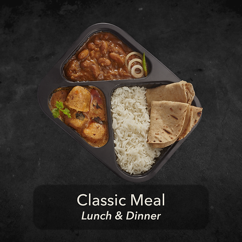 7 day - Classic Meal - Two meals