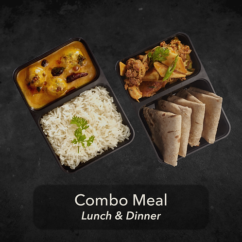 7 day - Combo Meal - Two meals