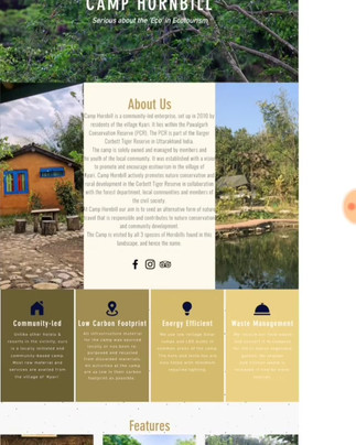 We have designed the website for Kumaon'maati'