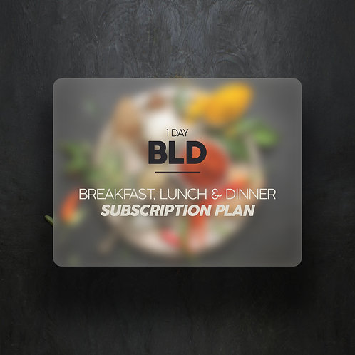 Breakfast, Lunch & Dinner (1 Day)