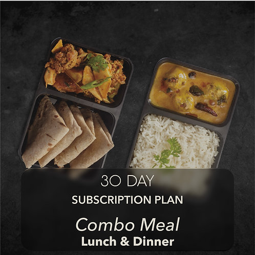 30 day - Combo Meal - Two meals