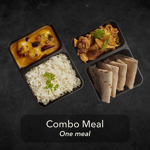 3 day - Combo Meal - One meal