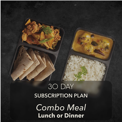 30 day - Combo Meal - One meal
