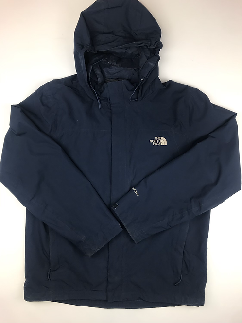 The North Face Navy Windbreaker HyVent, size men's LARGE