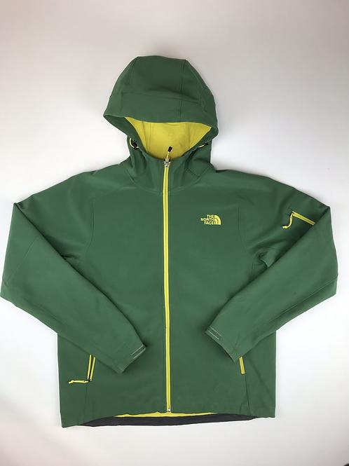 The North Face Green Lightweight active wear fleece inside Jacket, men's Large