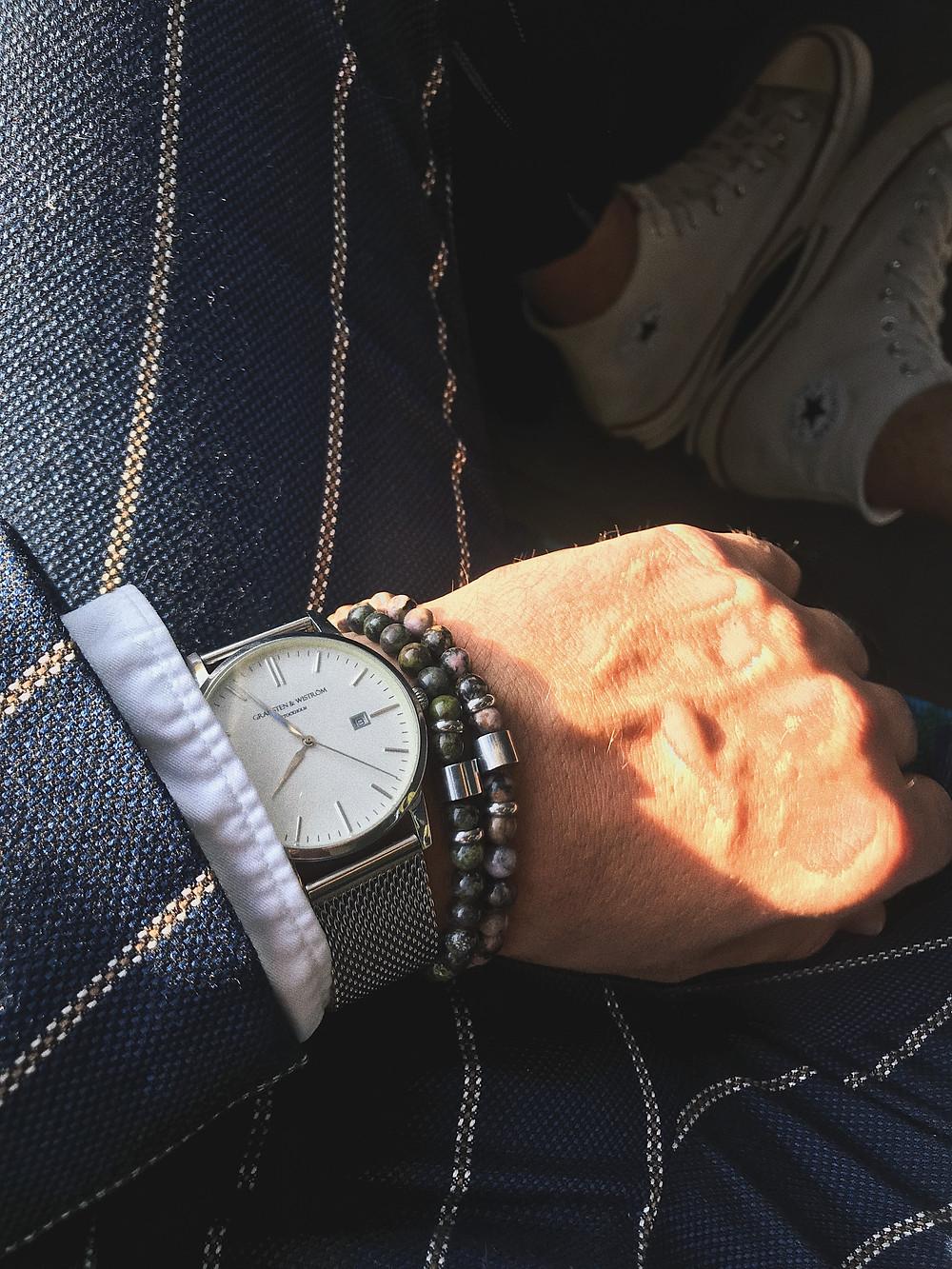 Men's bracelets from Manifestationbeads Accessories for men
