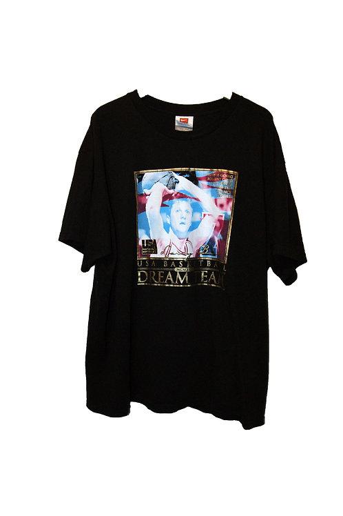 Larry Bird Dream Team USA Basketball NBA Nike T-Shirt