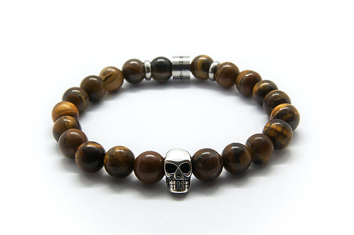 THE EYES OF THE TIGER x SKULL BRACELET