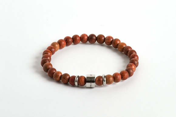 THE SIGH OF RELIEF WOOD BRACELET