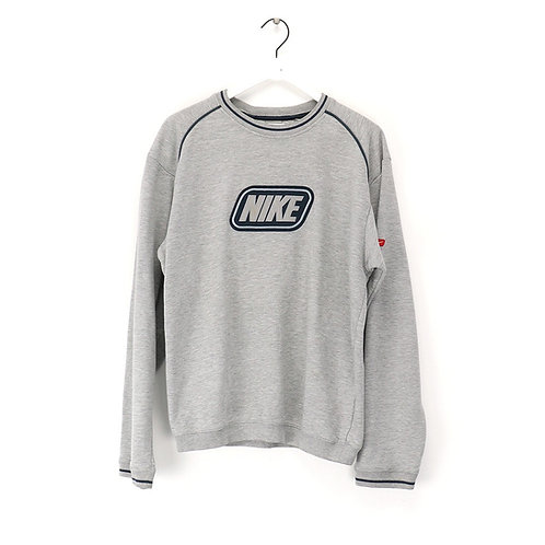 Nike 00's (late 90's) vintage sweat grey box logo rare, men's Large